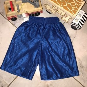 Kids Sz 4/5T Blue Gym Shorts